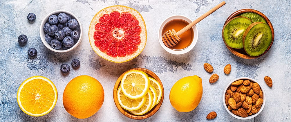 Collection of Vitamin C Foods - Vitamin C - The Grandfather of Traditional Antioxidants